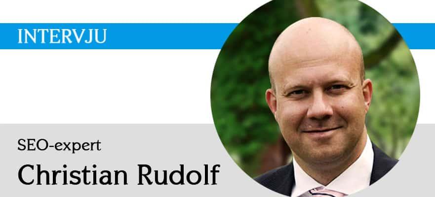 SEO-experten Christian Rudolf